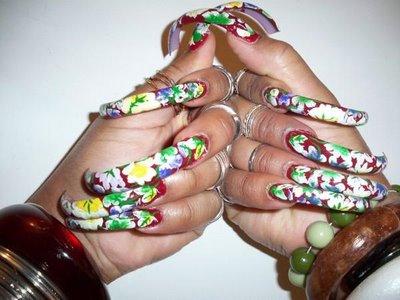 beauty best nail art increadible long nails designs for