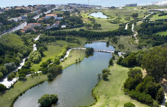 Parque da Cidade em Porto