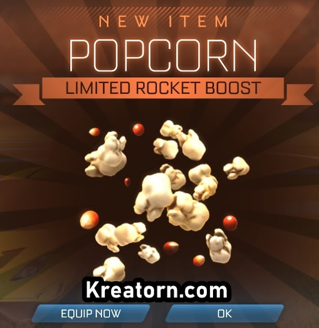 Rocket League Bedava Popcorn Boost Alma Kodu