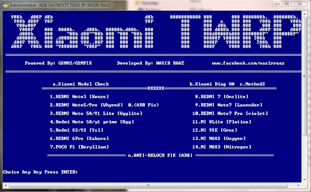 Xiaomi ADB Fastboot TWRP Install Tools Without Password Download By Jonaki TelecoM