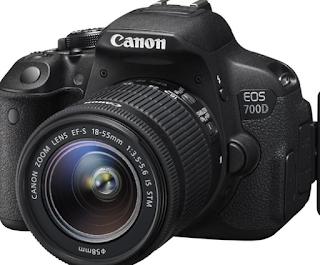 Ulasan Spesifikasi dan Harga Kamera Canon EOS 700D 18MP Kit 18-55 IS