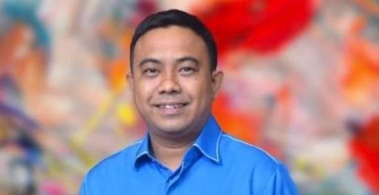 Ketua Umum Dewan Pimpinan Pusat Komite Nasional Pemuda Indonesia (DPP KNPI) Haris Pertama