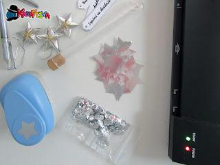 elementi decorativi per Capodanno o Natale