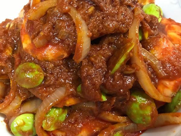 Resepi Masakan : Sambal Udang petai