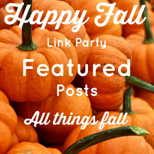 Happy Fall Blog Link Party Features