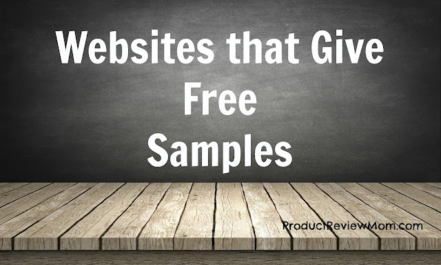 Websites that Give Free Samples  via  www.productreviewmom.com