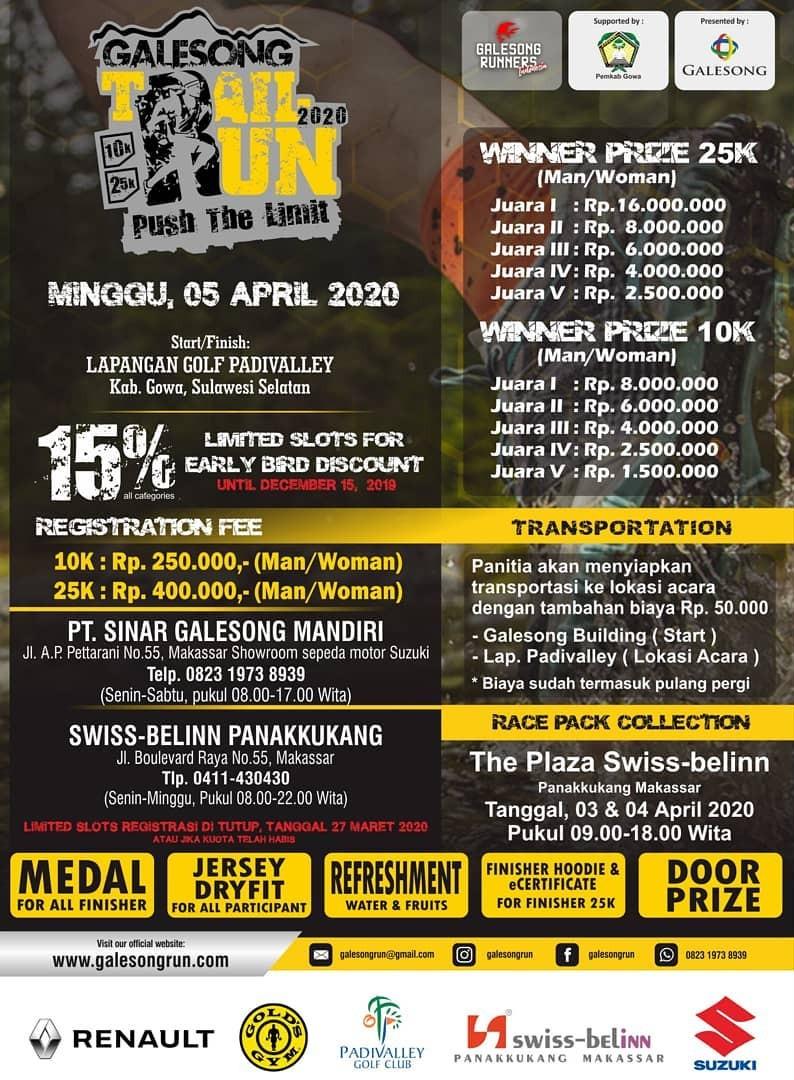 Hadiah Galesong Trail Run • 2020