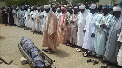 Sokoto Commissioner Of Science & Technology Who Died Yesterday Laid To Rest. Photos