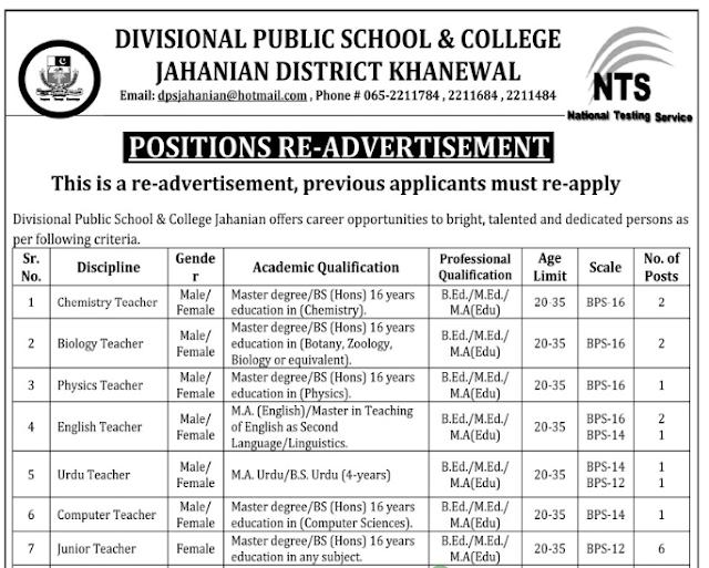Educators Jobs 2020 Teaching Jobs 2020 Teaching Jobs whole Punjab