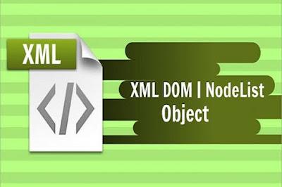 XML DOM - NodeList Object