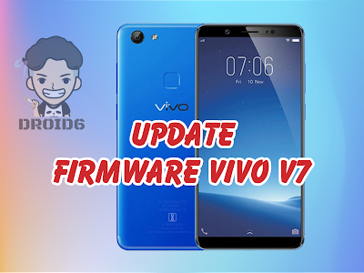 Update Firmware Vivo V7