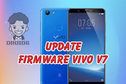 Update Firmware Vivo V7