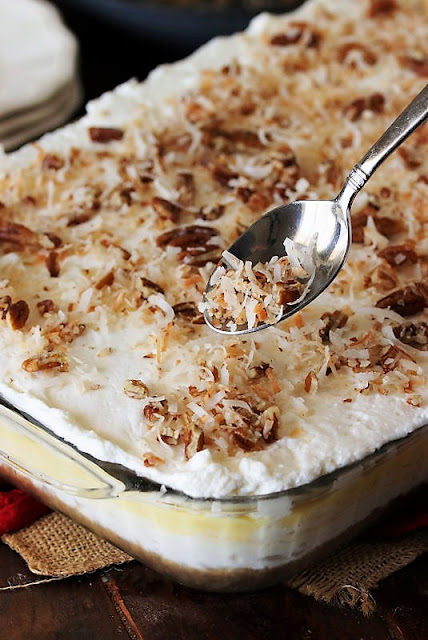 How to Make Coconut Cream Yum Yum Image