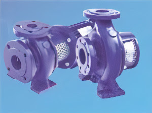 Single Stage Close Coupled Centrifugal Pump  (PAZ Series)