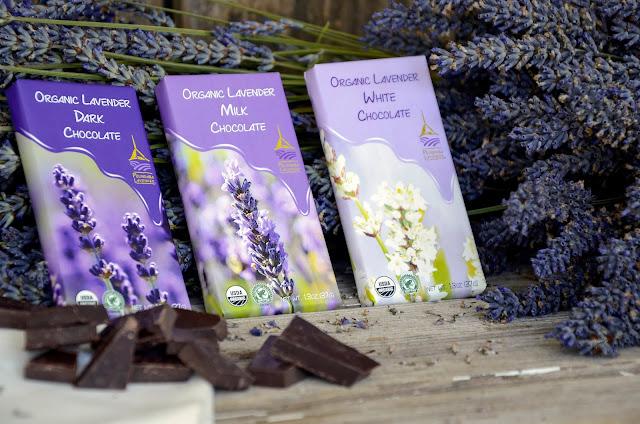 Organic Lavender Chocolate from Pelindaba Lavender