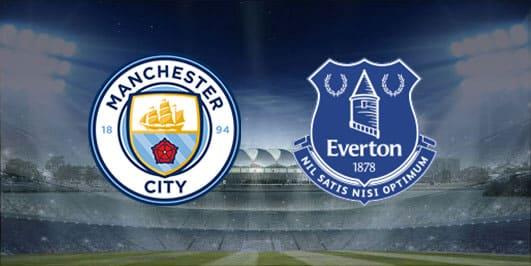 مباراة مانشستر سيتي وإيفرتون بتاريخ 01-01-2020 الدوري الانجليزي