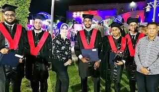 أنباء الوطن وحلوة يا بلدى تهنئ طلاب الأكاديمية البحرية للعلوم والتكنولوجيا