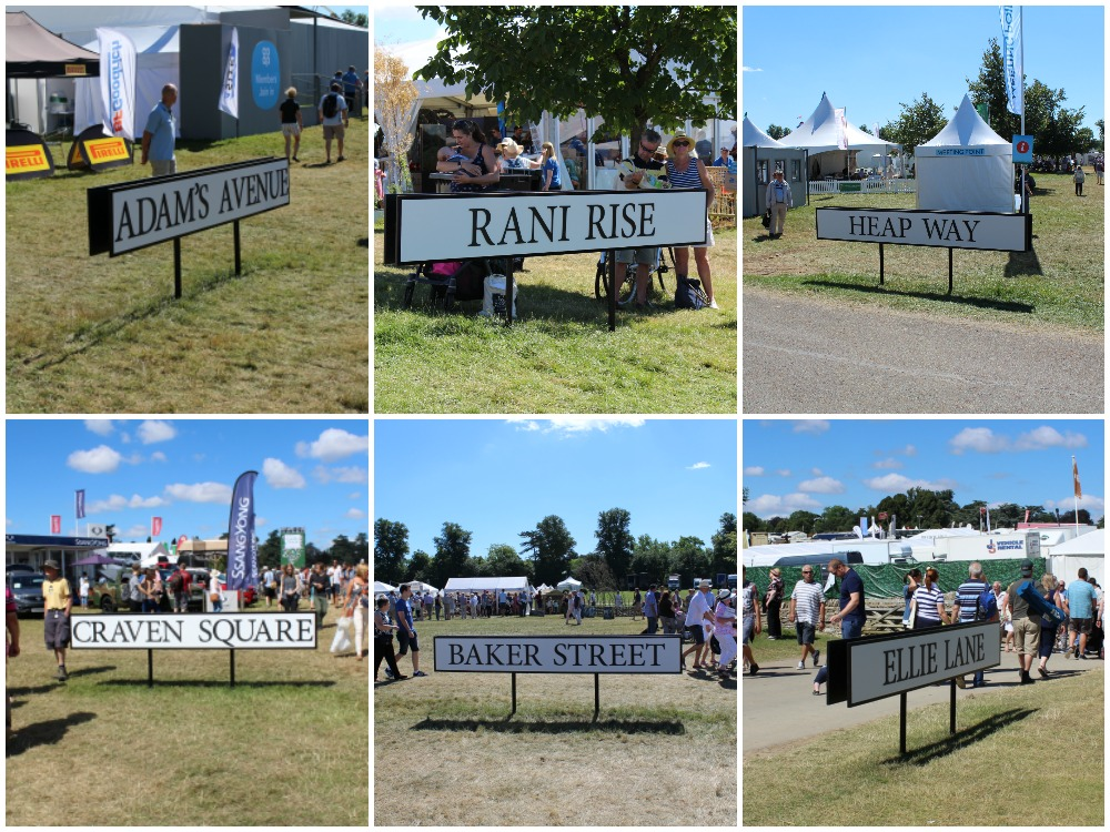 Countryfile Presenters Signs