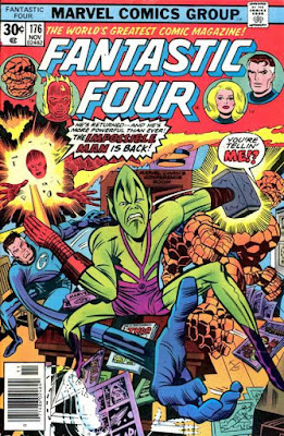 Fantastic Four #176, the Impossible Man is back