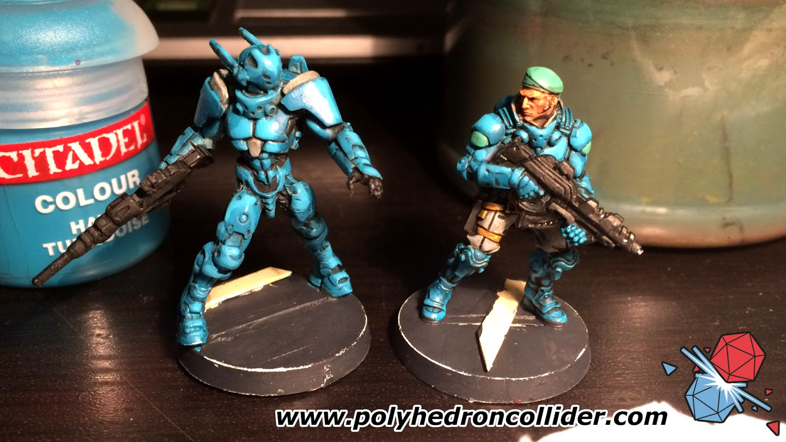 Infinity Operation Icestorm miniatures