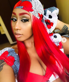 Victoria Kimani flaunts sexy cleavage in eye popping photos