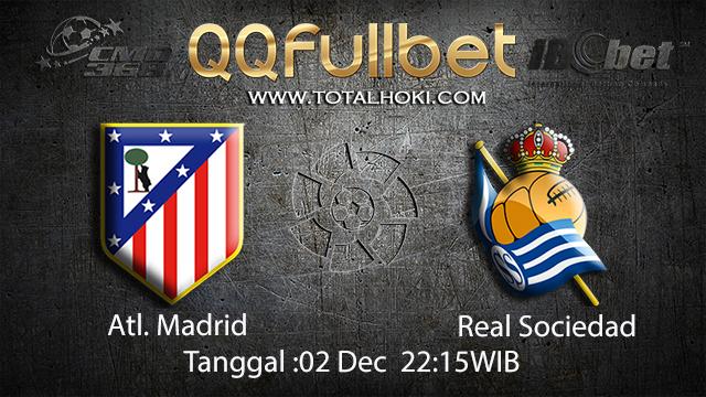 PREDIKSI BOLA ~ PREDIKSI TARUHAN BOLA ATL.MADRID VS REAL SOCIEDAD  02 DESEMBER 2017 (Spanish La Liga)