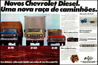 propaganda caminhões Chevrolet Diesel - 1979. propaganda anos 70. propaganda carros anos 70. reclame anos 70. Oswaldo Hernandez.