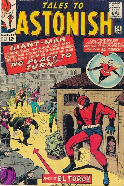 Tales to Astonish #54, Giant-Man and the Wasp