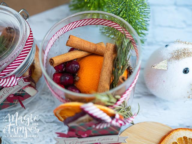 Confectionnez du pot-pourri à mijoter comme cadeau avec vos produits Stampin' Up!