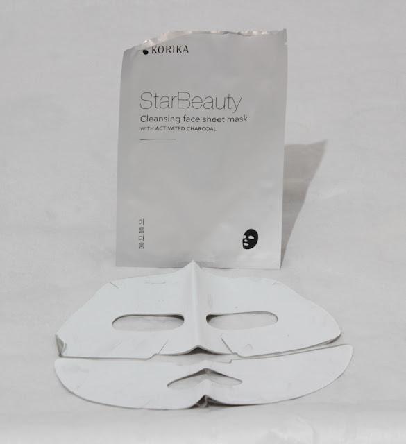 StarBeauty Mascarilla coreana limpiadora con carbón