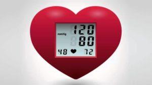 Nivel de presión arterial normal en una persona