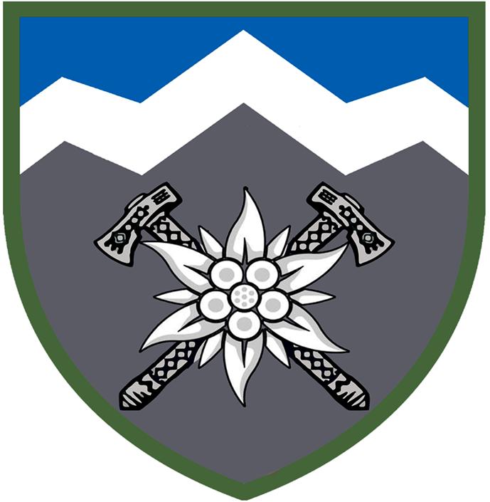 Затверджено емблему 10-ї гірсько-штурмової бригади
