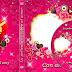 Plantilla psd color rosado para portada DVD
