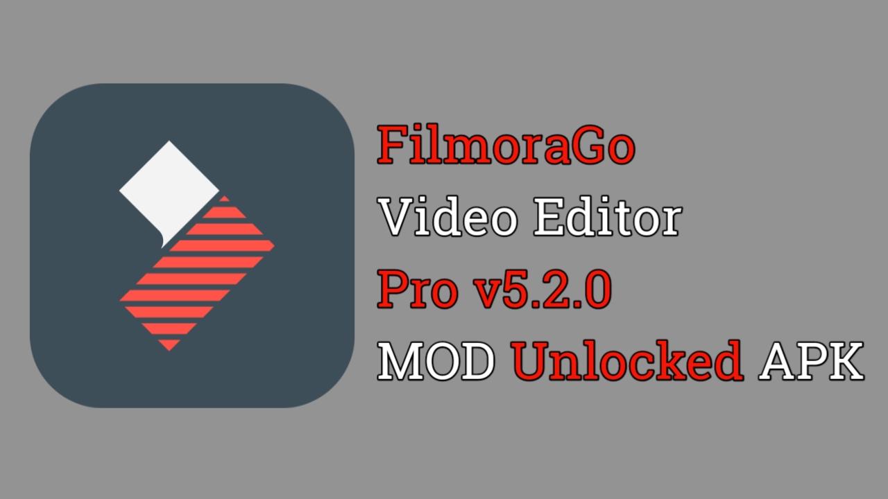 Download FilmoraGo v5.2.0 MOD Unlocked APK