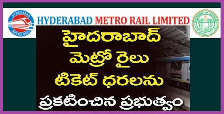 HMR Hyderabad Metro Rail Fares Stations Price for Ticktet Charges Rout Map Timings Smart Card Details