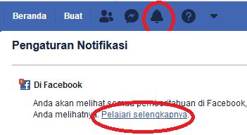 klik sekrang untuk notifikasinya