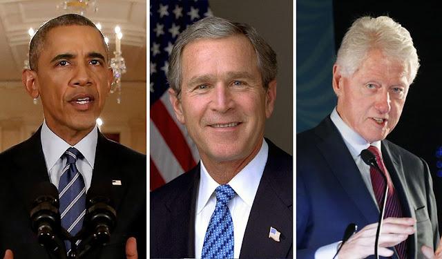 Obama, Bush e Clinton se oferecem para tomar vacina contra Covid-19 e provar que ela é segura