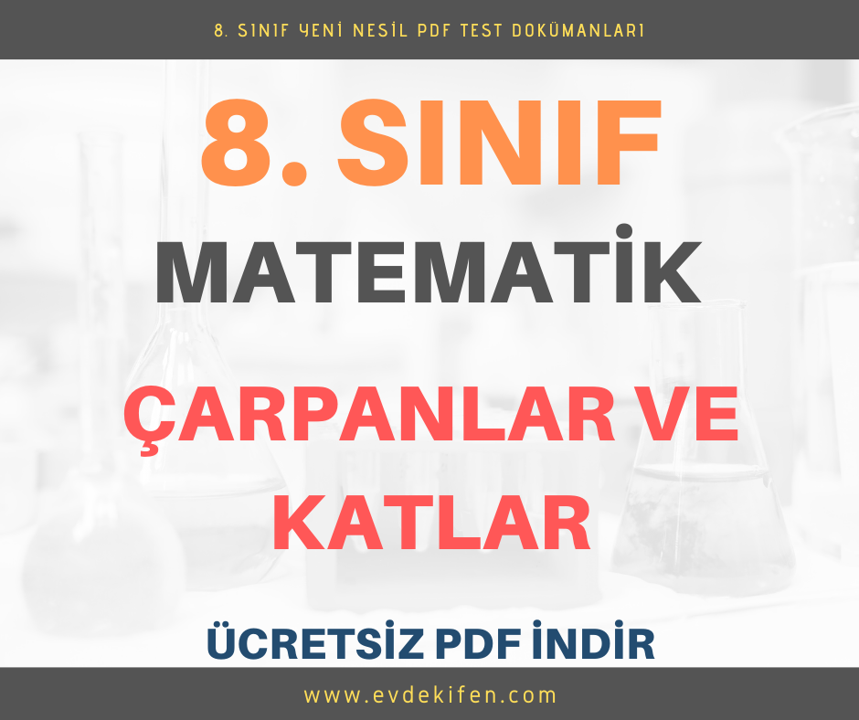 carpanlar ve katlar pdf test