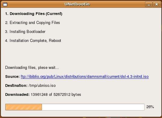 شرح برنامج UNetbootin إنشاء محركات أقراص USB