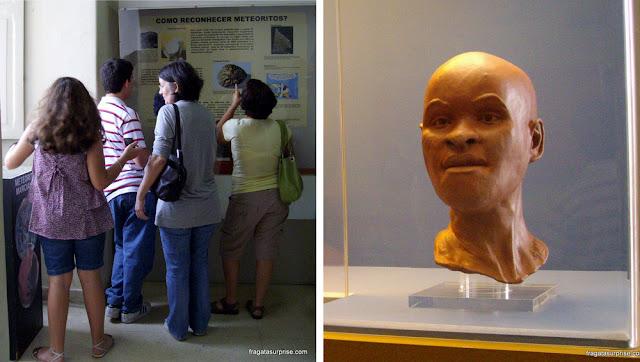 Luzia, a primeira brasileira, Museu Nacional da Quinta da Boa Vista