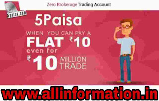 5Paisa Demat and trending Account Open kaise kare