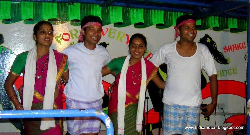 Goan dance on cruise