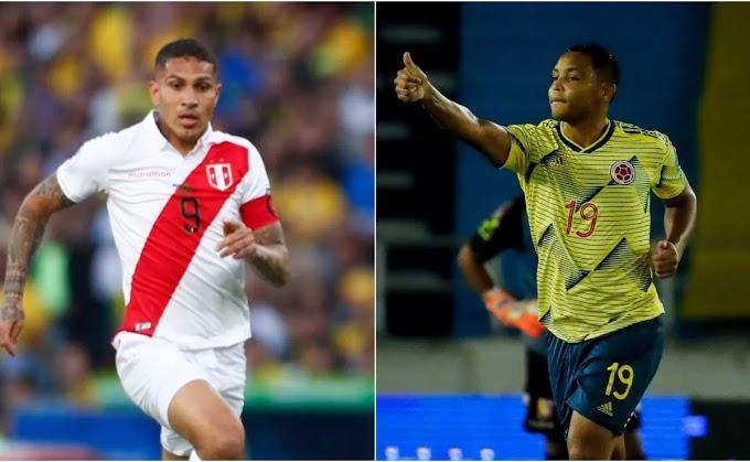 مشاهدة مباراة كولومبيا و بيرو بث مباشر