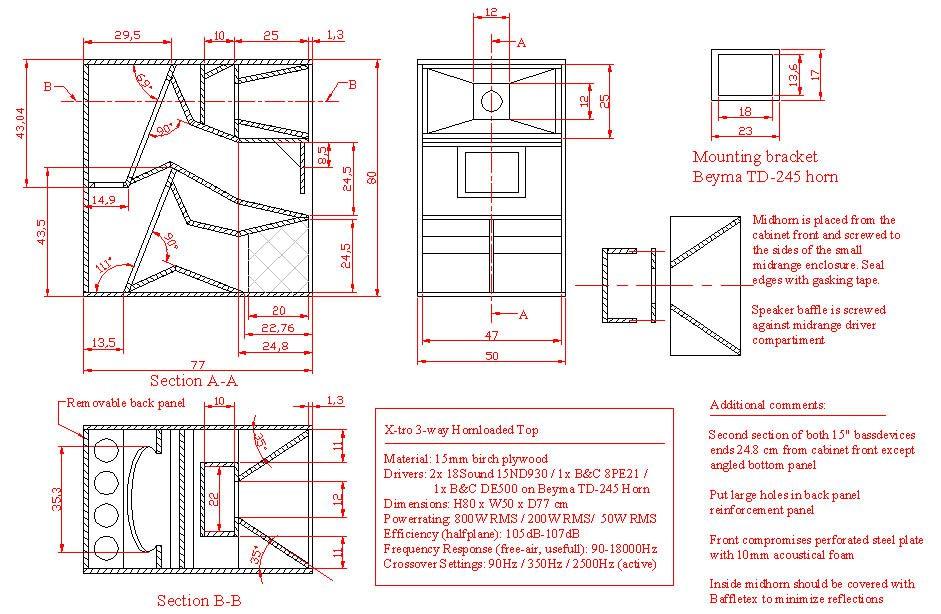 X-tro speaker plans details