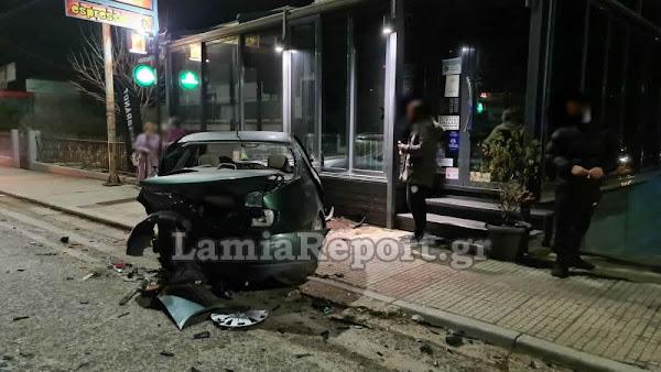 Λαμία: Μεθυσμένος οδηγός σκόρπισε τον πανικό (ΒΙΝΤΕΟ-ΦΩΤΟ)