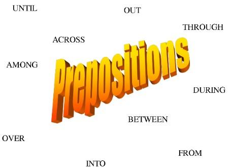 Pengertian Preposition (kata depan) dalam Bahasa Inggris