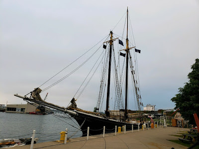 Schooner Lettie G Howard docked in Erie