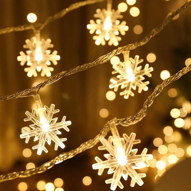 Snowflakes-Design-LED-Light