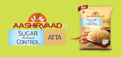 Aashirvaad Sugar Release Control Atta Sample