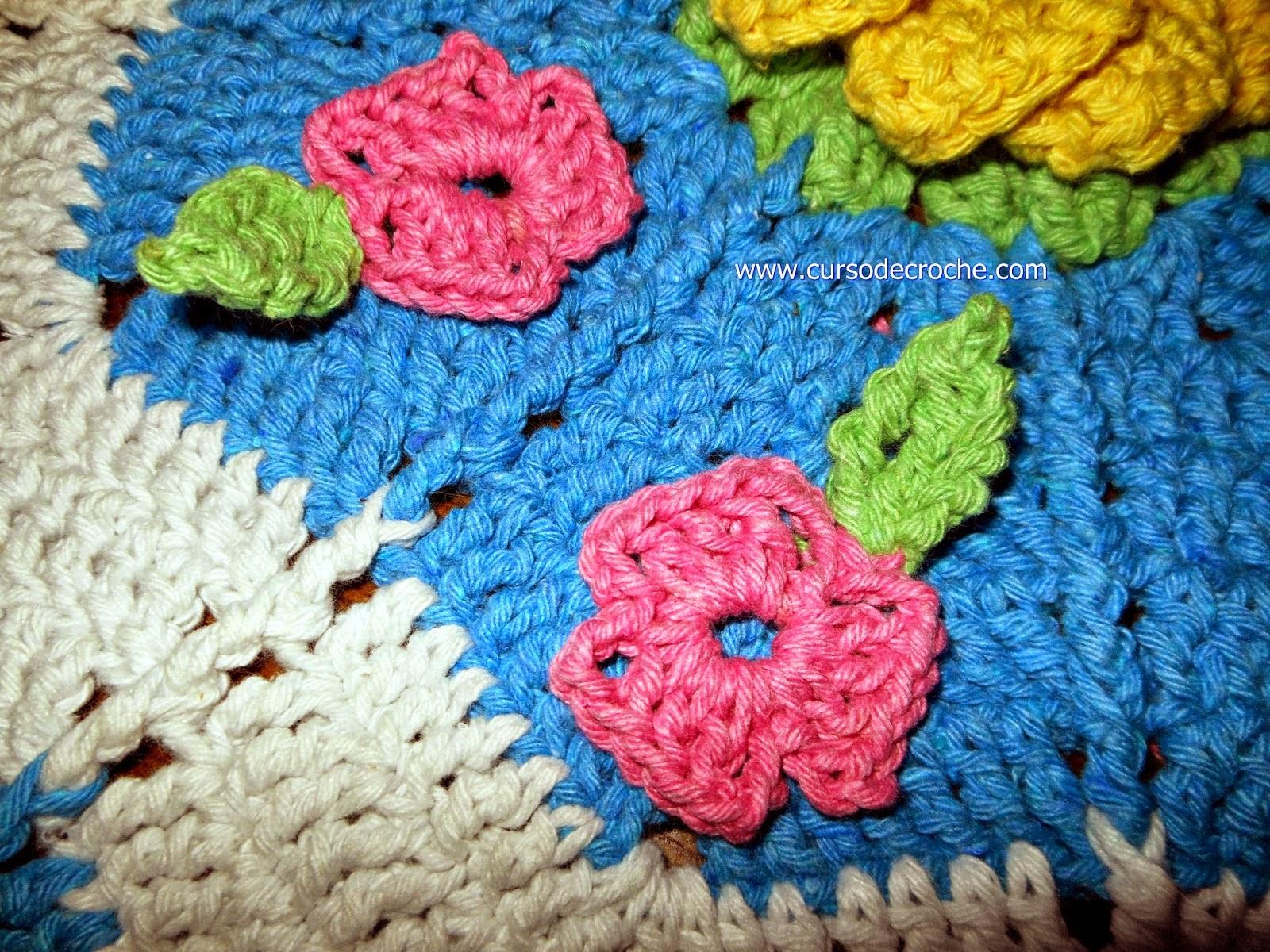tapete de croche com flores tapete de croche listrado como fazer tapete de croche edinir-croche aprender croche curso de croche facebook
